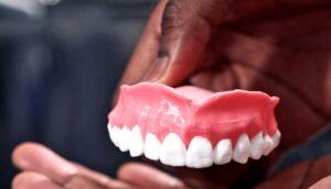 پرینت سه بعدی دندان ضد قارچ با پرینتر سه بعدی