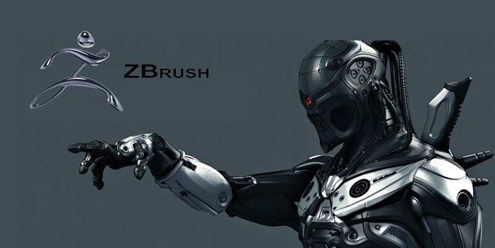 آشنایی با نرم افزار ZBrush زبراش