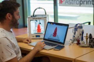 Astroprint یک نرم افزار قدرتمند در زمینه پرینت سه بعدی