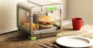 تولید غذا با پرینتر سه بعدی