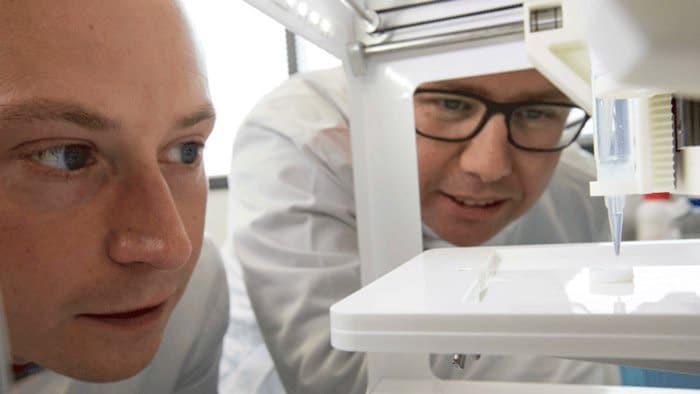 پرینت سه بعدی قرنیه چشم
