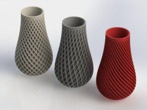 پروژه هفتگی – پرینت سه بعدی ۶ مدل برتر گلدان