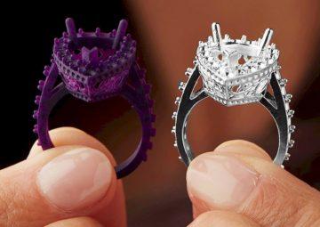 پرینت سه بعدی در صنعت طلا و جواهر