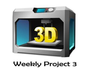 پروژه هفتگی (قسمت سوم) – پرینت سه بعدی جدول عناصر