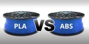 مقایسه فیلامنت ABS و PLA