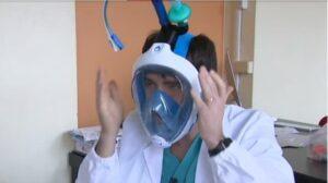 تبدیل ماسکهای غواصی به دستگاه تنفس به کمک پرینت سه بعدی
