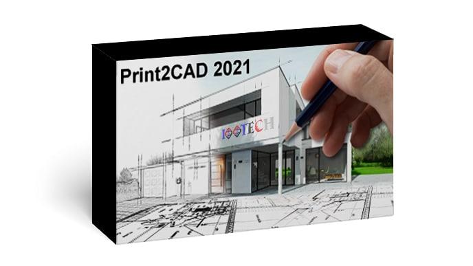 نرم افزار Print2CAD