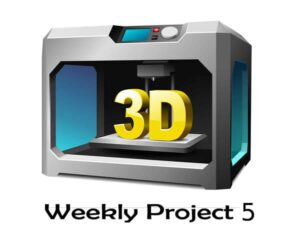 پروژه هفتگی (قسمت پنجم) – پرینت سه بعدی پایه دوربین