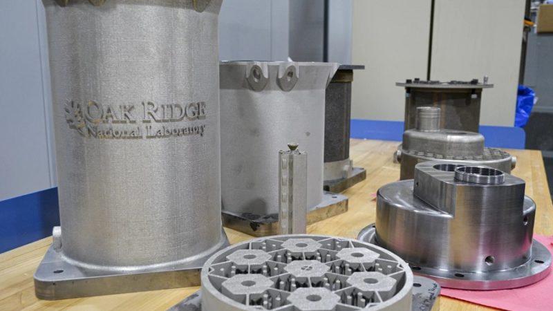 تولید هسته رآکتور اتمی با پرینتر سه بعدی