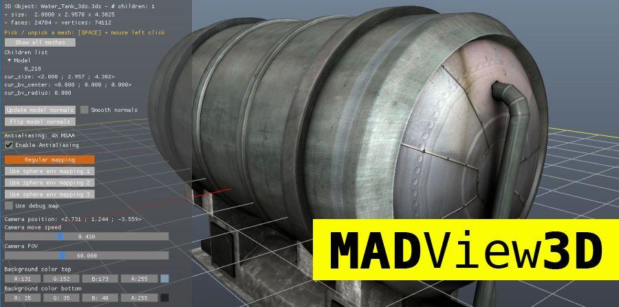 نرم افزار MadView 3D