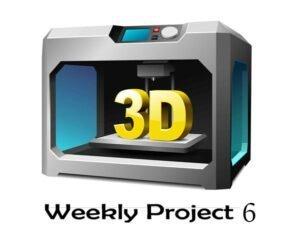 پروژه هفتگی (قسمت ششم) – پرینت سه بعدی اسباب بازی هلیکوپتر