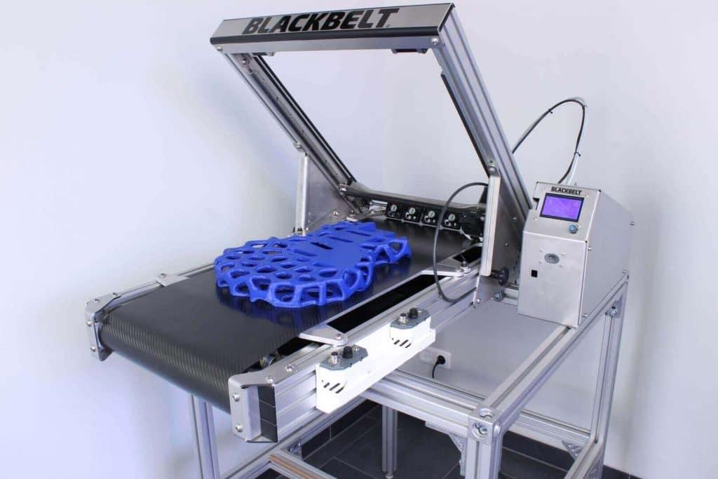 آشنایی با پرینتر سه بعدی نامحدود شرکت Blackbelt 3D