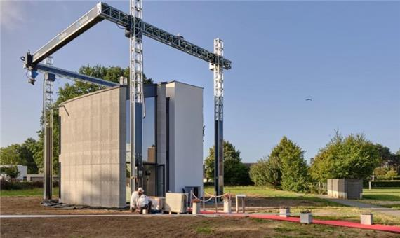 پرینت ۳ بعدی  بزرگ ترین خانه یک تکه در اروپا