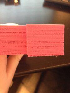 چاپ نشدن بعضی از لایه ها در پرینتر سه بعدی