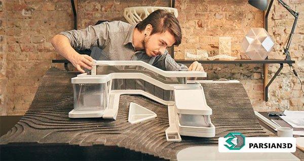 پرینت سه بعدی پروژه معماری