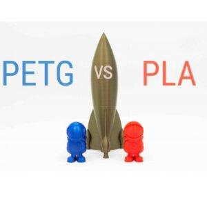 مقایسه فیلامنت PLA و PETG