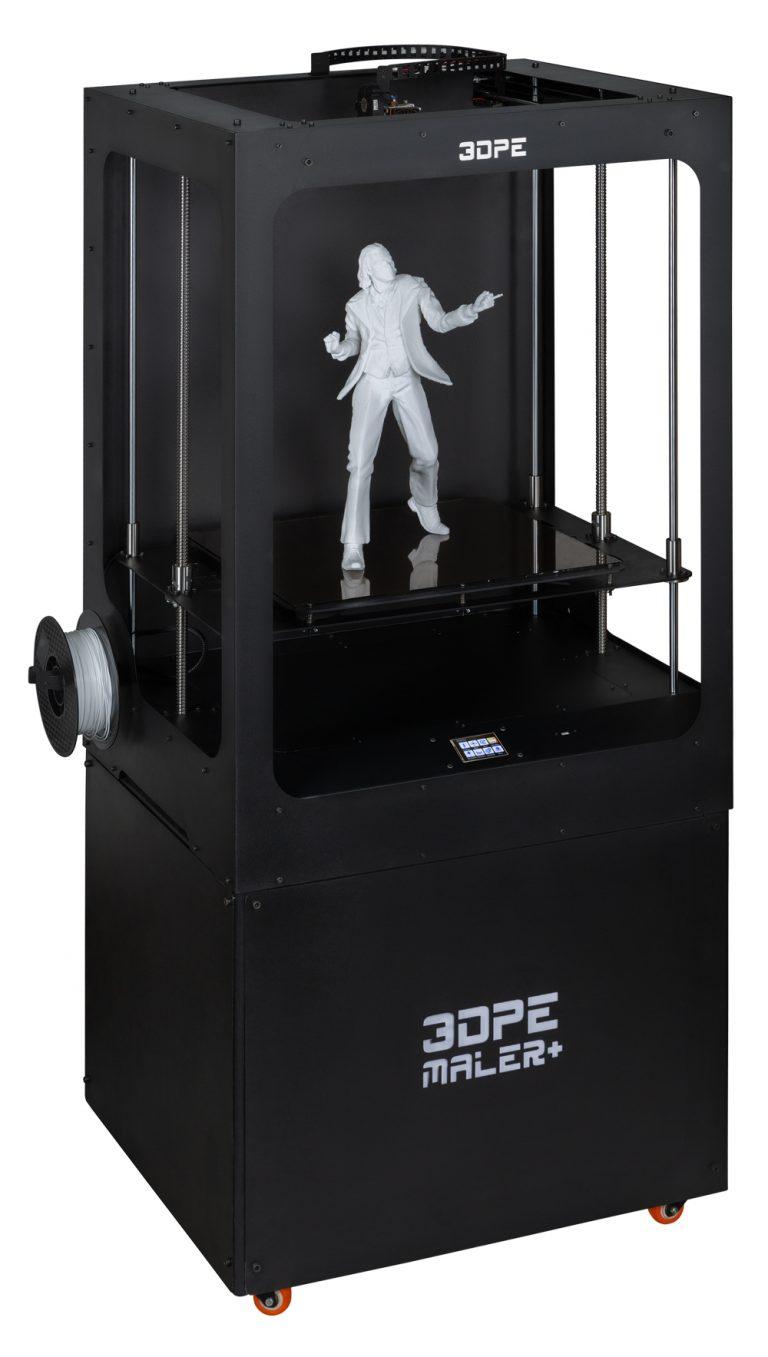 پرینتر سه بعدی مدل مالر پلاس