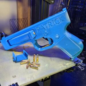 ساخت تفنگ با پرینتر سه بعدی توسط سازندگان آمریکایی