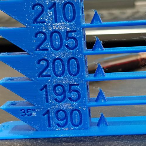 بهترین دمای پرینت سه بعدی برای فیلامنت PLA